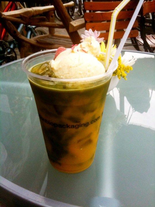 green tea bar