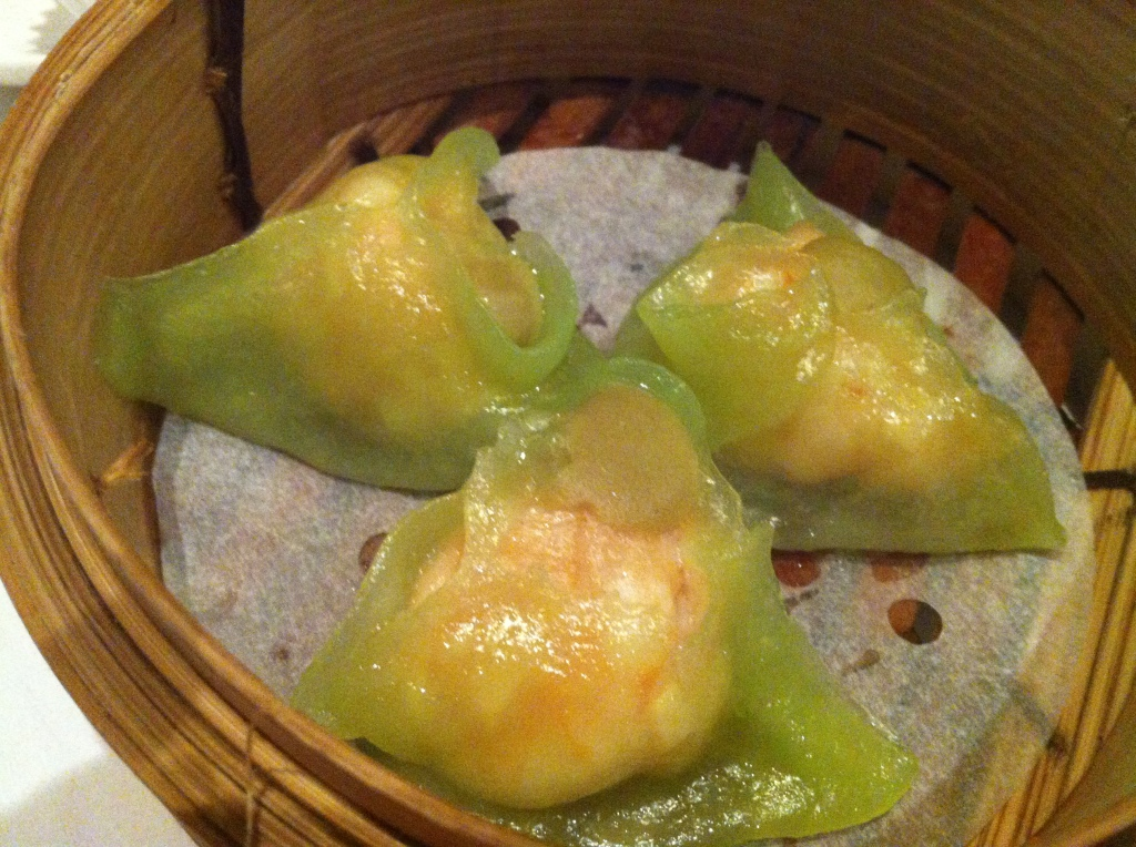 Those wasabi prawns   Peal Liang Dimsum