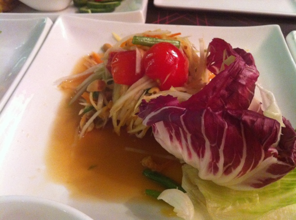 Thai feast at   Ora London