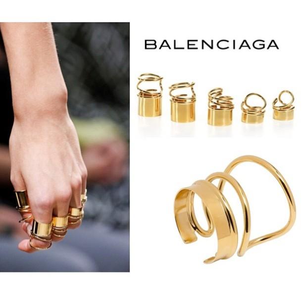 balenciaga rings 2013