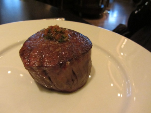 Fillet of Aberdeen Angus (c.1830)Mushroom ketchup & triple cooked chips