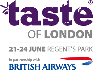 Taste of London 2012 (21-24 June) - Regent's Park - Jpg logo