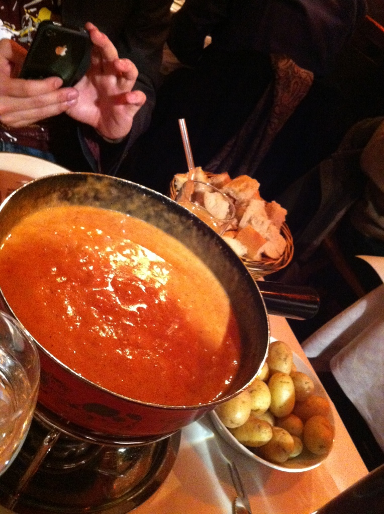 ... full fondue experience - St Moritz Soho | The Food Connoisseur