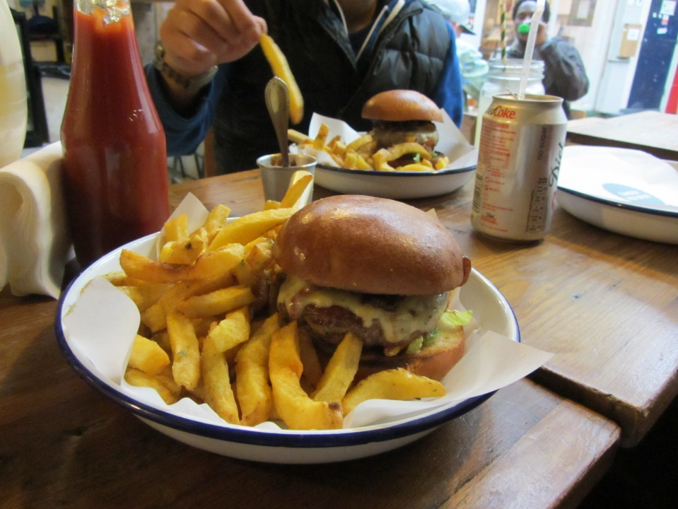 Brixton Village Pt.2   Honest Burgers | Happy Dumplings | Chillbox