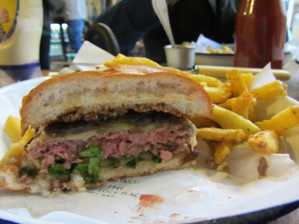Honest Burgers - Cheese burger