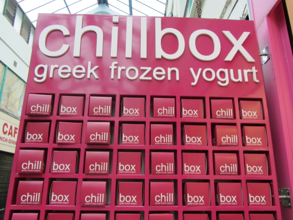 Chillbox frozen yoghurt