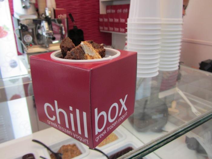 Chillbox frozen yoghurt