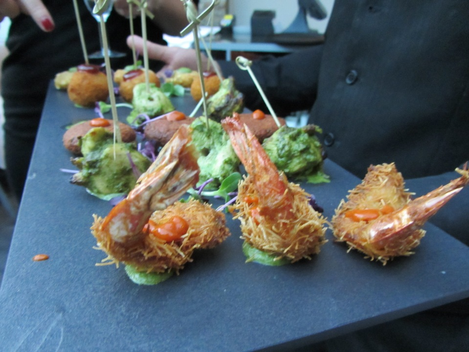 Dockmaster's House canapes