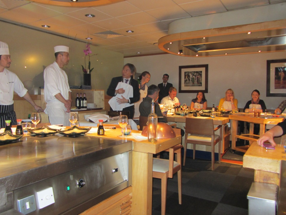 The rooooof is on FIRE! Festival of the Senses   Kikkoman Masterclass with Simon Hulstone
