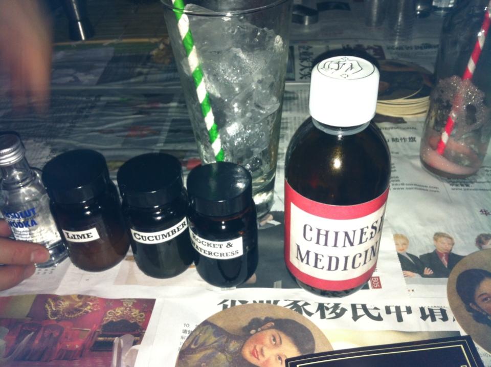opium cocktails