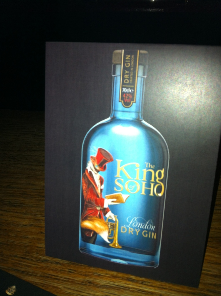 king of soho dry gin