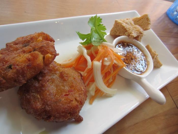 The sweet & deep fried tofus