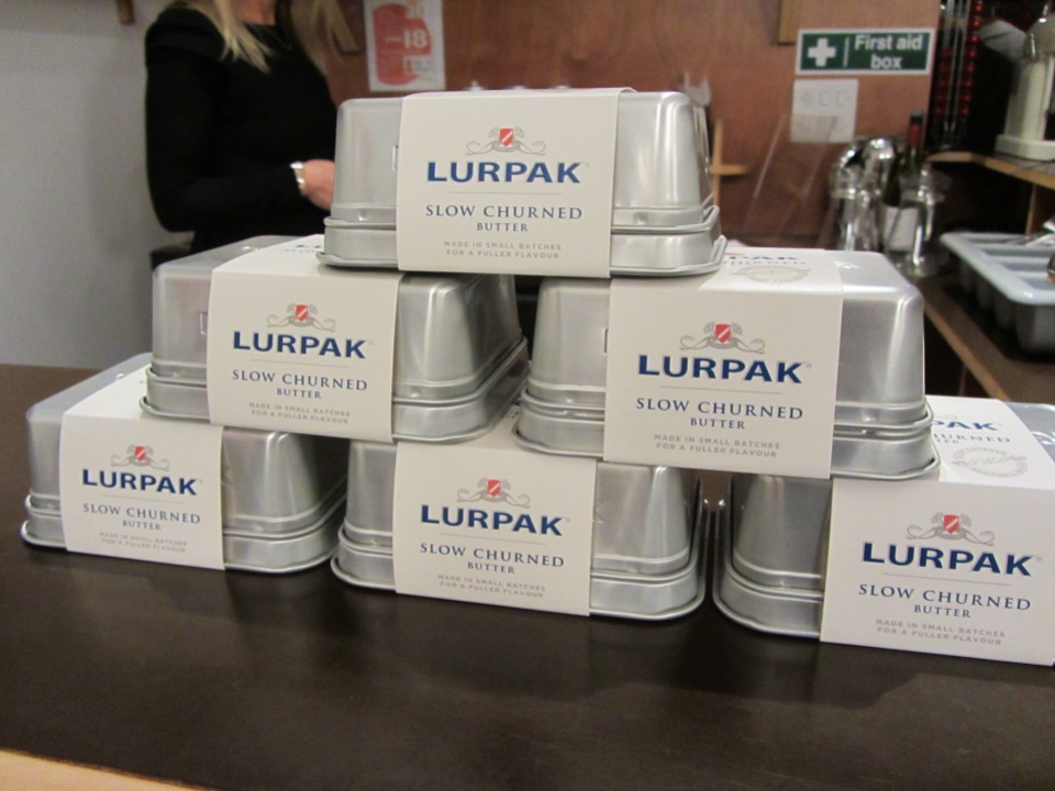 Lurpak slow churned butter