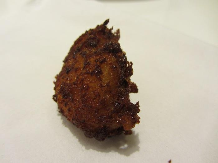Allspice and Norwegian salt cod savoury doughnut fritters