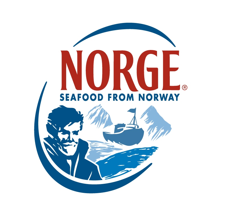 norwegian seafood logo Norwegian Seafood Council Christmas showcase with Signe Johansen