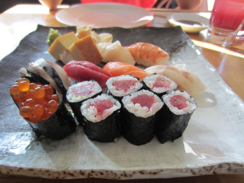 Nobu sushi set