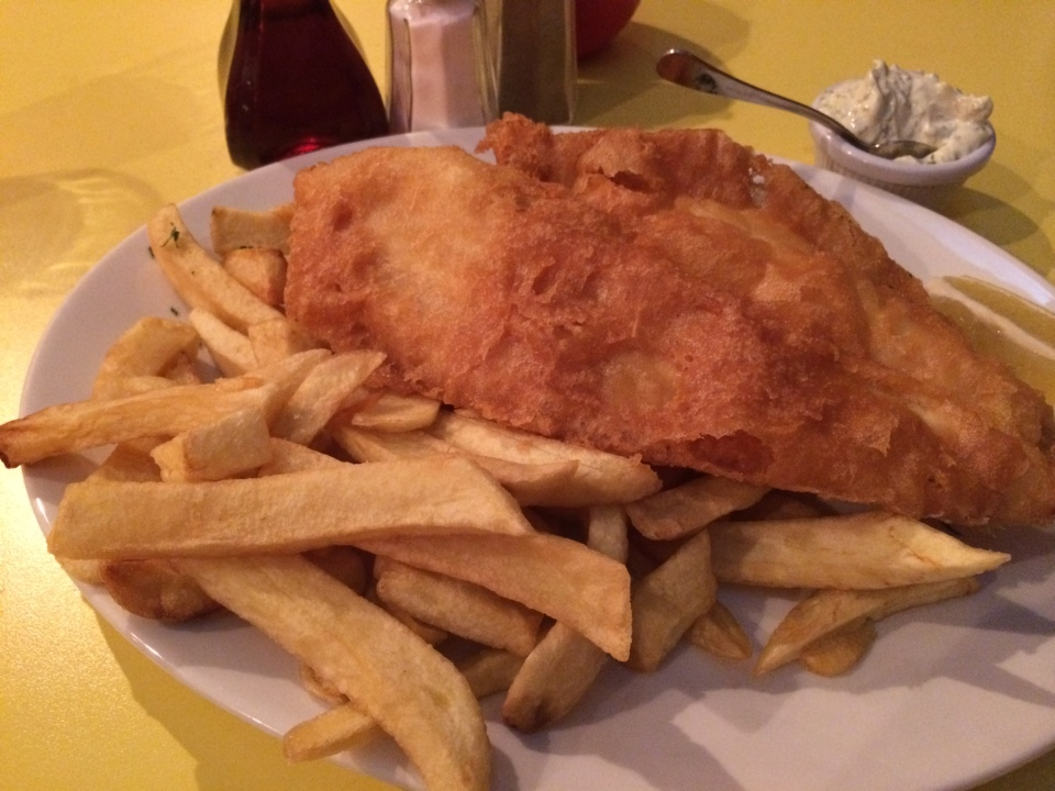 golden union fish and chips