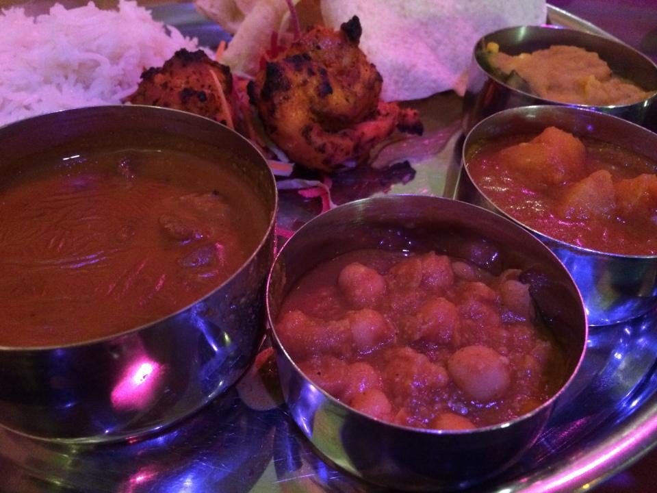 thali tray - daawat