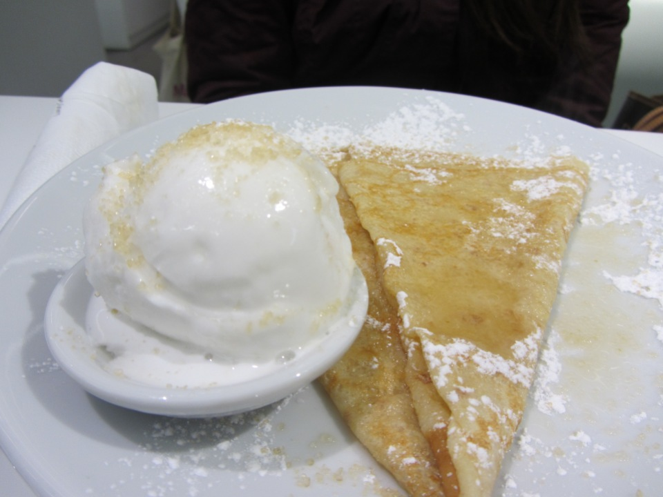 Lemon Crepe Snowflake gelato