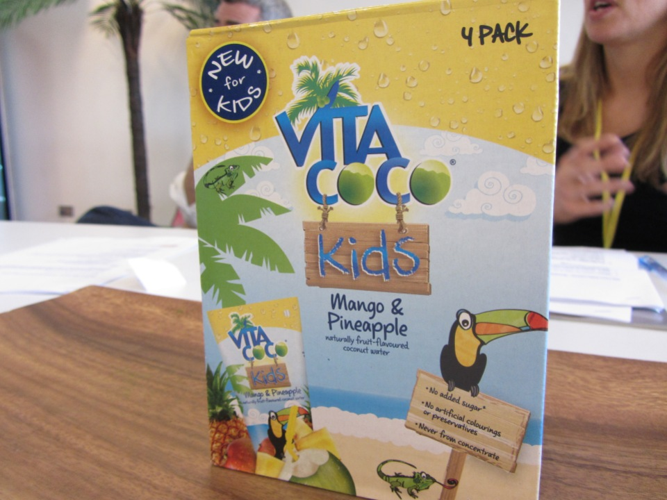 Vita coco kids mango and pineapple