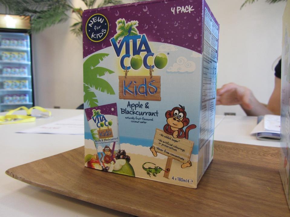 Vita coco kids apple and blackcurrant